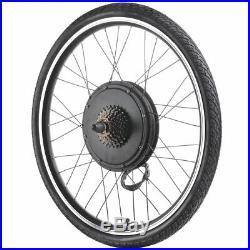 1000W 26 Rear Wheel Electric Motor E-Bike Components Cycling Conversion Kit 48V