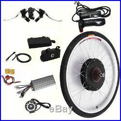 1000W Electric Bicycle Motor Conversion Kit E Bike Rear Wheel Motor Hub 48V UK