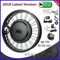 1000-3000W Electric Bike Bicycle Conversion Kits Hub Motor Wheel ModifiedGG