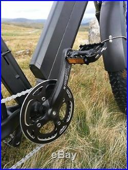 1200W / Electric Bike 4 Fat Tyre Mountain bike 48V E-Bike UK 17.5 ah Samsung
