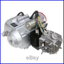 125cc Engine 3 + 1 Semi auto Electrical Start Motor ATV Quad Bike Motorbikes