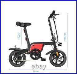 12INCH Electric Folding Bike City Commuter E-Bike With 350W Motor