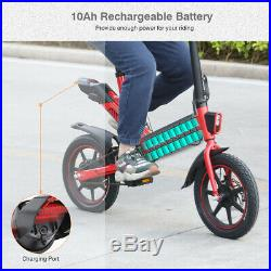 14 Ebike Folding Electric Bike 36V 350W Motor Electric Bicycle Cycling E-Bike A