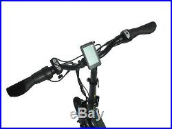 16 Folding Electric Bike 36V 6.6Ah battery 250W motor Black Shaft Drive