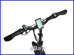 16 Folding Electric Bike 36V 6.6Ah battery 250W motor Matt Green Shaft Drive