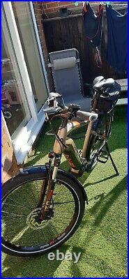 2020 Haibike trekking 4.0 Electric Bike eMTB size Large yamaha motor