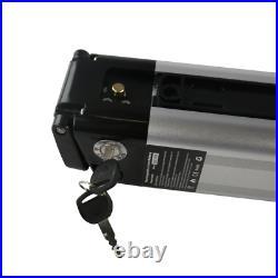 24V 10A Li-ion Electric E-Bike Battery Lockable Keys Motor Power 350W-S006 Serie