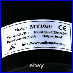 24V 500W Electric Motor Controller Battery Throttle E Bike Scooter Go Kart ATV