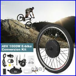 26 /27.5''1000W Electric Bicycle Motor Conversion Kit Rear Wheel E Bike yc T3S9