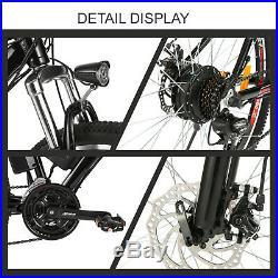 26'' Ebike Electric Bike 36V 250W Motor Electric Bicycle Mountain E-Bike 35km/h