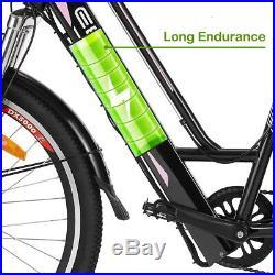 26'' Ebike Electric Bike 36V 250W Motor Electric Bicycle Mountainbike E-Bike DHL