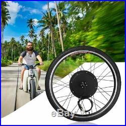 26 Electric 48V Bicycle Wheel Conversion Kit 1000W E Bike Motor Hub Speed Rear