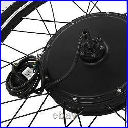 26 Front Rear Wheel Conversion Kit 48V 1000W Motor Hub Electric Bicycle E Bike