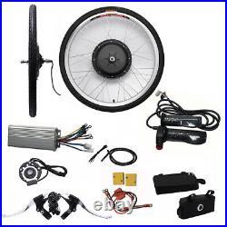 26'' Front Wheel 48V 1000W Electric Bicycle Conversion kit E-Bike Hub Motor Kit