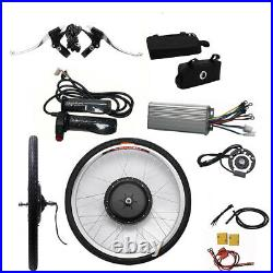 26 inch 48V 1000W Electric Bicycle Conversion Kit Front Wheel Hub Motor