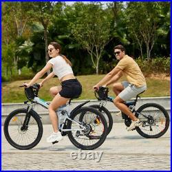 26in Electric Bikes Mountain Bike Folding Ebike E-Citybike Bicycle 250W 21Speed