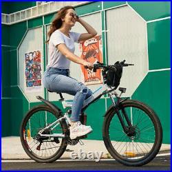 26inch Electric Bikes Bicycle E-Mountain Bike E-Citybike Ebike 35km/h Unisex UK