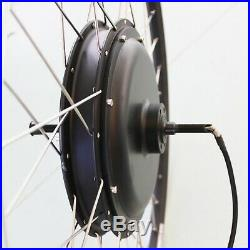 28/700C Rear Wheel 48V 1000W Electric Bicycle E Bike Conversion Hub Motor Rim