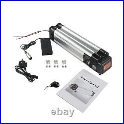 350W 24V 10A Li-ion Electric E-Bike Battery Pack Kit Lockable Keys Motor Power