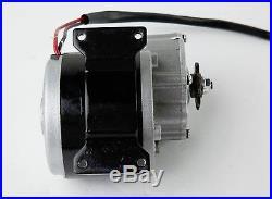 350 Watt 36 Volt DC electric motor kit w Gear bicycle bike gokart w Batteries