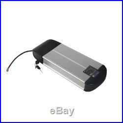 36V 10A Li-ion Electric E-Bike Battery Pack Kit Lockable +Keys Fit Motor 500W