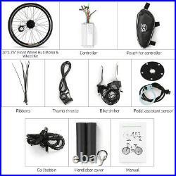 36V 250W 20''Wheel Electric Bicycle Motor Conversion Kit E Bike Cycling Hub Y7N0