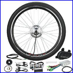 36V 250W 26 Front Wheel Electric Bicycle Conversion Kit Speed Hub Motor Cycling