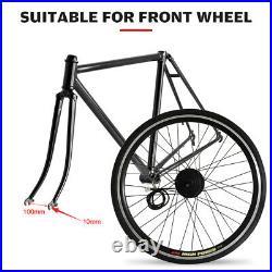36V 250W Electric Bicycle Motor Conversion Kit Bike Cycling Hub 20'' Wheel H4X0