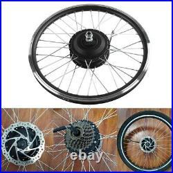 36V/48V 350W 20IN Front/Rear Wheel Electric Bicycle Motor E-Bike Conversion Kit