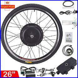 36V 500W Front Electric Bicycle E-Bike Conversion Motor Kit Wheel 26 Bike Wheel