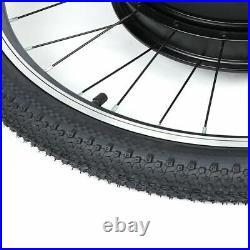 36V 800W Electric Bicycle Motor Conversion Kit Front Wheel Bike Cycling Hub 26