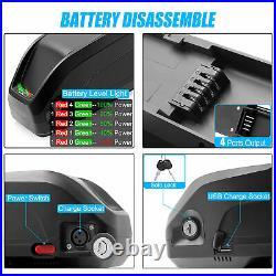 48V13Ah Hailong Li-oin Battery Electric Bike Downtube Battery for 1000W Motor UK