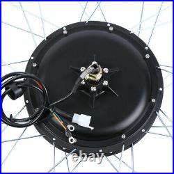 48V 1000W 26'' Electric Bicycle Motor Conversion Hub Kit Rear Wheel E Bike CE