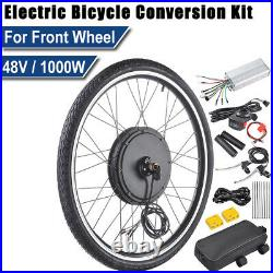48V 1000W 26 Front Wheel Electric Bicycle Motor E-Bike Cycling Conversion UK
