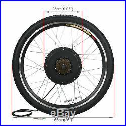48V 1000W 26 Rear Wheel Electric Bicycle Motor Conversion Kit Bike Cycling Hub