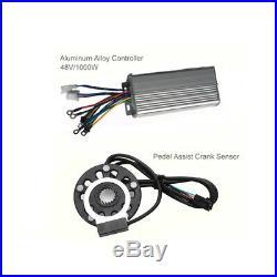 48V 1000W 28 Electric Bicycle Motor Controller E-Bike Rear Wheel Conversion Kit