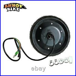 48V 1000W 8 Inch Electric Bicycle Scooter Motor Fat Tire wheel Brushless Hub UK