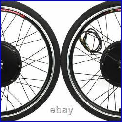 48V 1000W Electric Bicycle Motor Conversion Kit E-Bike Front Wheel 26 Motor Hub