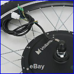 48V 1000W Electric Bicycle eBike Motor Conversion Kit Front Wheel 26 LCD Meter