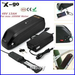 48V 13AH 1000W 750W Ebike electric Bicycle lithium Battery Mid Motor Bafang Bike