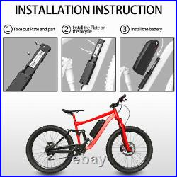 48V 13AH Ebike Battery for 1000W 750W 500W Motor Electric Bike Electric Bicycle