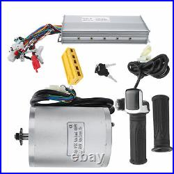 48V 2000W Electric Brush Motor + Controller Kits EBike Conversion Accessories