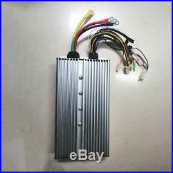 48V 60V 72V 3000W Brushless Controller 80A 30Mosfet For BLDC Motor Electric Bike