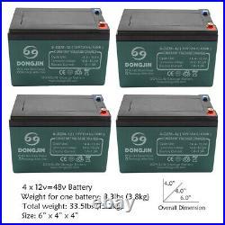 48v 1800w Brushless Motor Controller Battery Full kit Electric Go Kart Mini Bike
