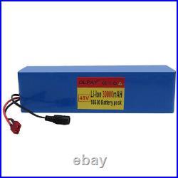 48v 30Ah 13S3P 1000w Li ion battery Pack 54.6v E-bike Electric bicycle BMS Motor
