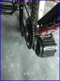 48v 500w Brushless MID Drive Electric E Bike Conversion Kit Motor