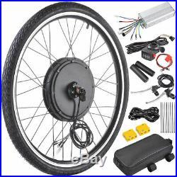 500W 26 Front Wheel Electric Bicycle Motor Kit E-Bike Conversion Cycling Hub UK