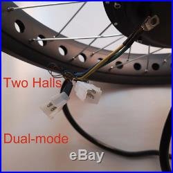 63-70km/h Electric Bike Kit R Wheel Fat Bike 3000W Electric Motor 72V Hub Motor