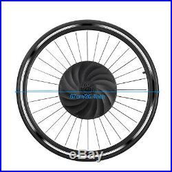 700c Electric Bicycle Motor Conversion Kit Front Wheel E-Bike Hub 240W Bluetooth