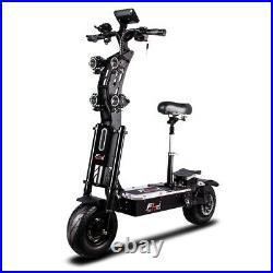 72V 8000W e Scooter LED Electric Bike 130Km Range 90km/h Ultra Speed Dual Motor